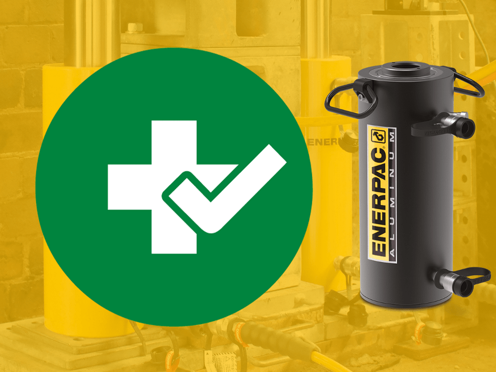 using hydraulic cylinders safely
