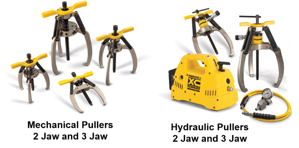 2 jaw puller and 3 jaw puller mechanical and hydraulic