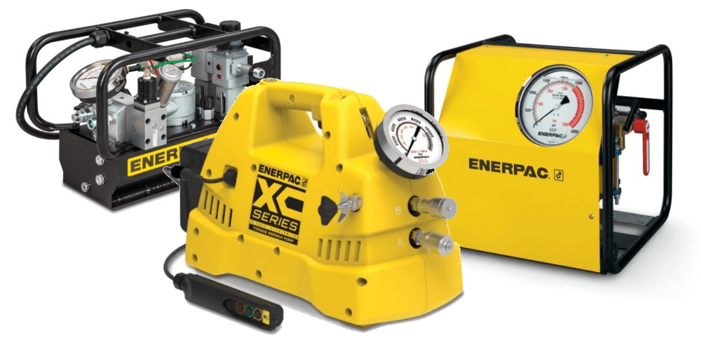hydraulic pumps for torque wrenches