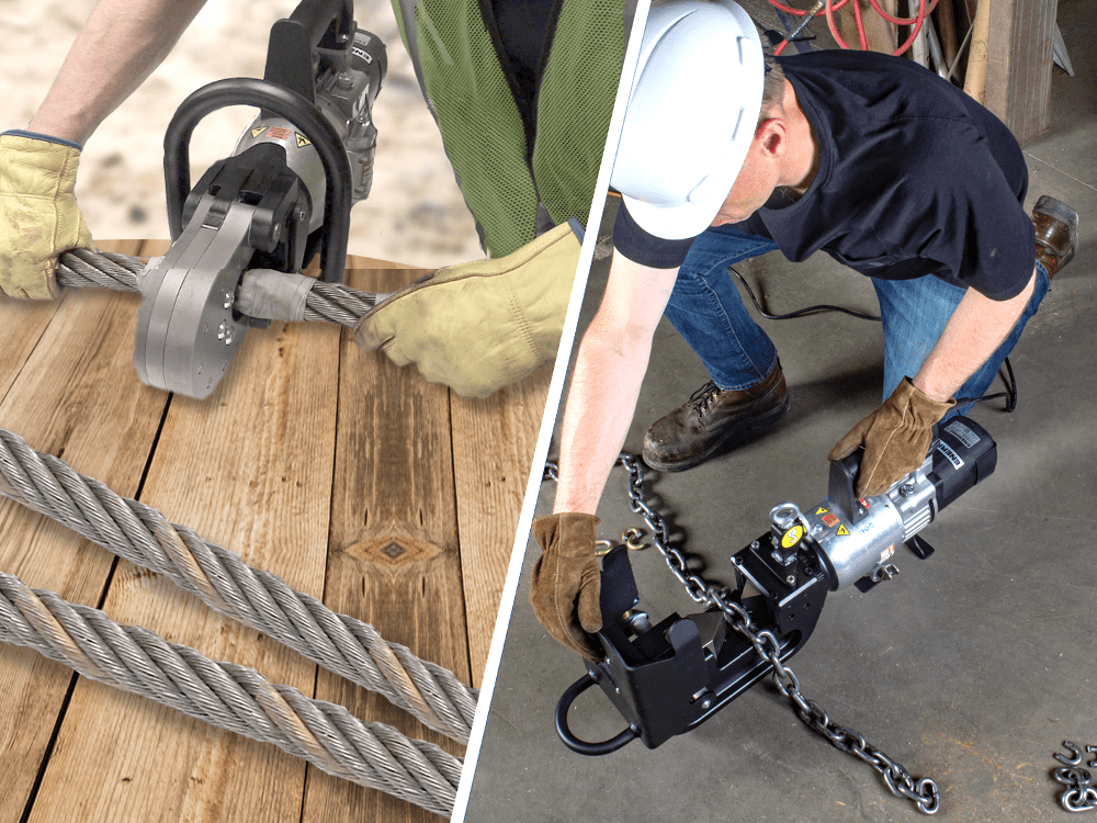 rigging tools chain cutters and wire rope cutterss