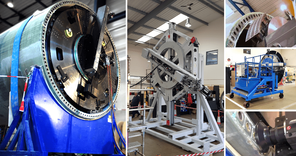 tools for wind turbine manufacturing