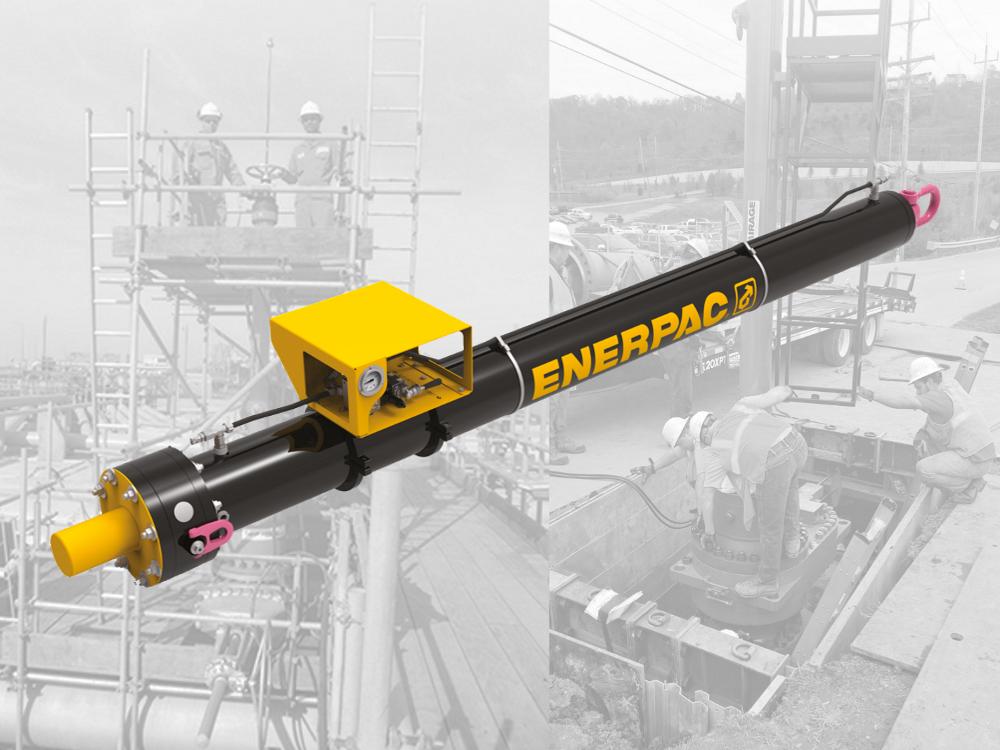 enerpac line stop actuator