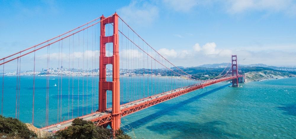 types of bridges golden gate suspension bridge