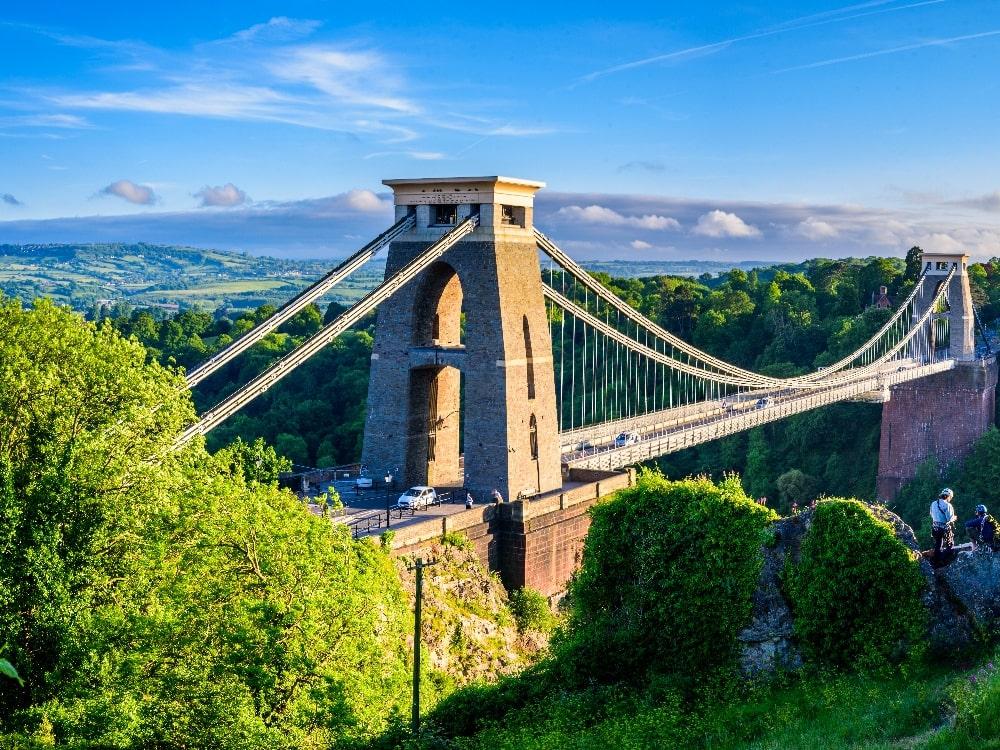types of bridges the clifton suspension bridge